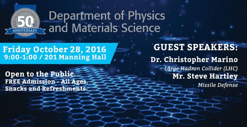 Physics and Materials 50th Anniversary Celebration