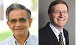 Drs. Narahari Achar and John Hanneken