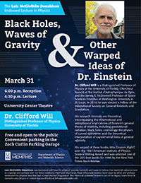 Black Holes, Waves of Gravity & Other Warped Ideas of Dr. Einstein