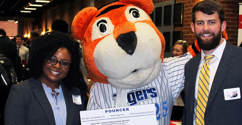 Pouncer at Internship Fair 2017