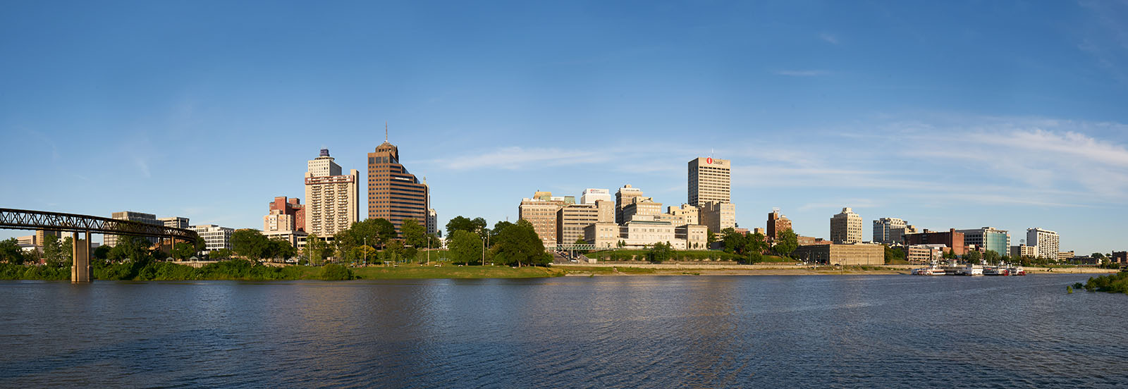 Downtown Memphis buildings landscape