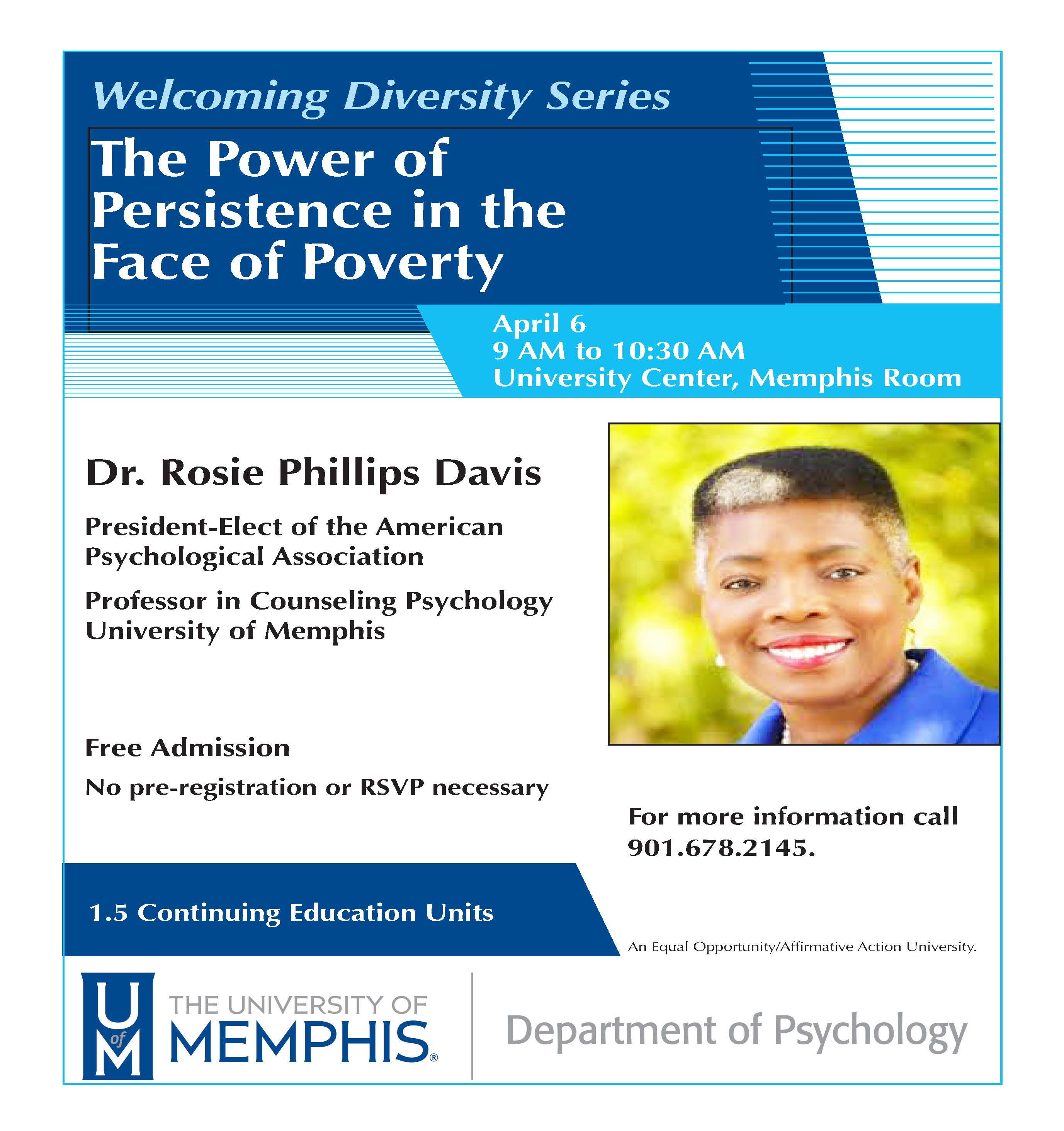 Dr. Rosie Phillips Davis