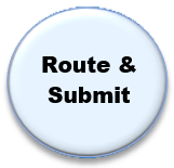 route and submit in Cayuse
