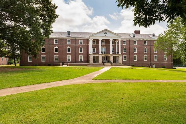 Carney-Johnston Residence Hall on University of Memphis Lambuth Campus