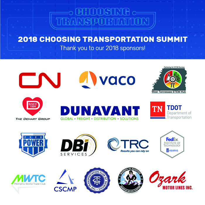 2018 choosing transportation sponsors