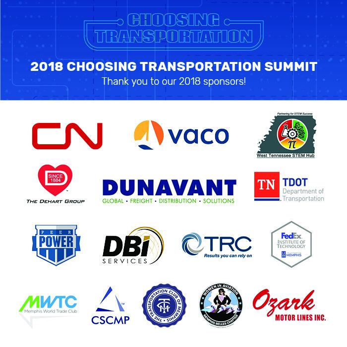 2018 choosing transportation sponsors
