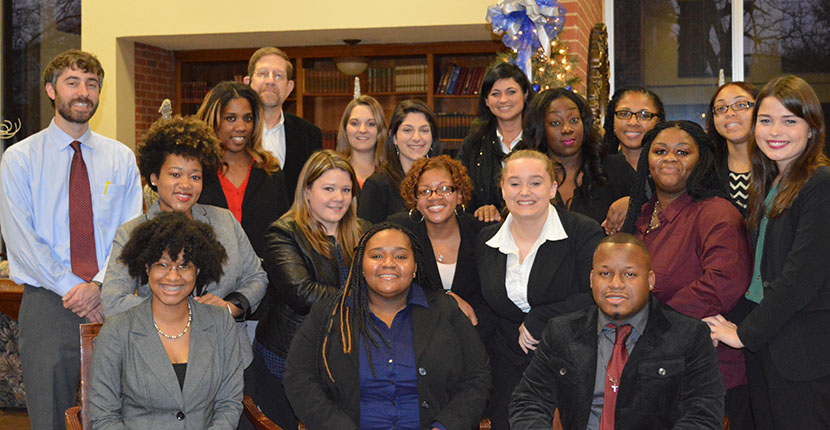 The first cohort of the MSW-PDI graduated in May 2015 with Master in Social Work degrees