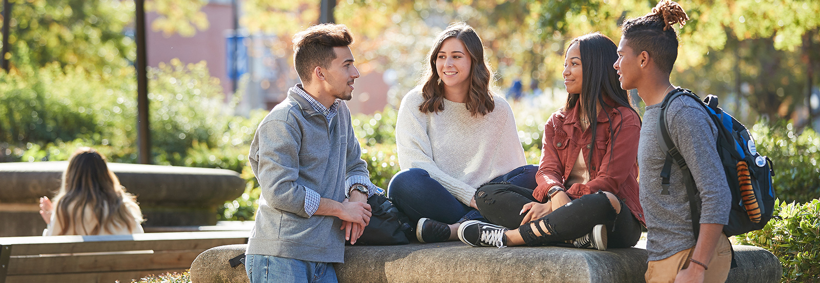 Students are exposed to a full range of sociological specialties and a wide selection of classes.  Learn more about the programs in sociology.