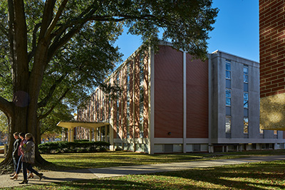 Clement Hall at the University of Memphis