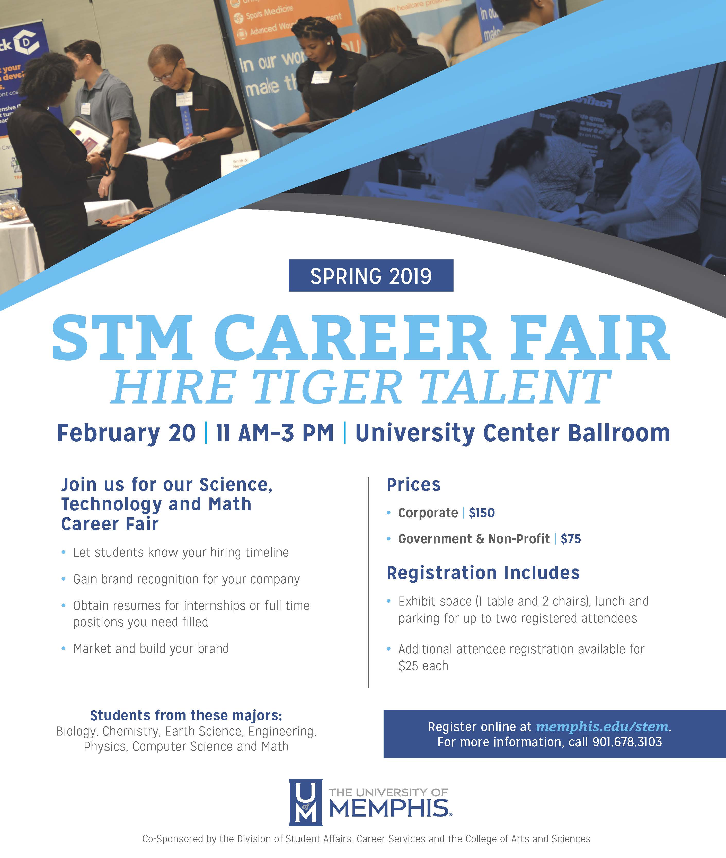 STM Career Fair Spring 2019