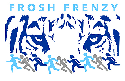 Frosh Frenzy Logo