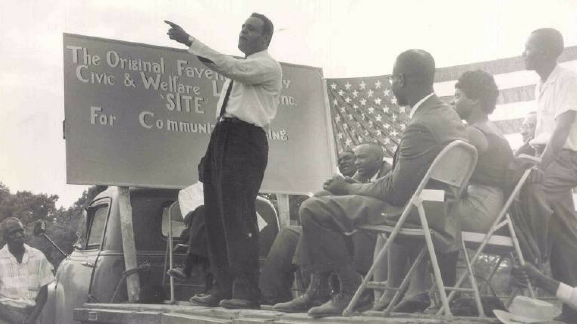 The movement was led and organized by the local Black community
