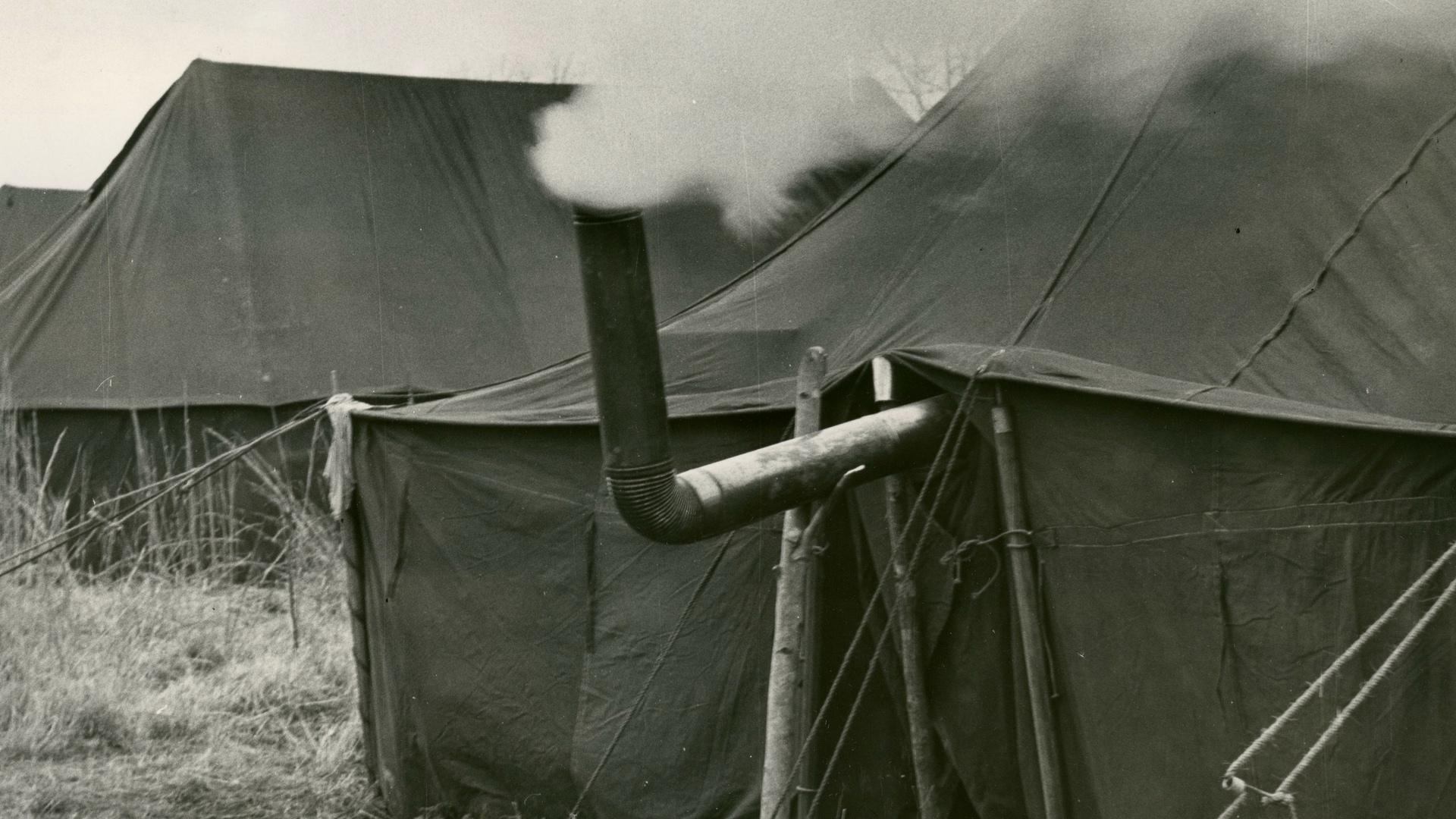 Tent City in Haywood County