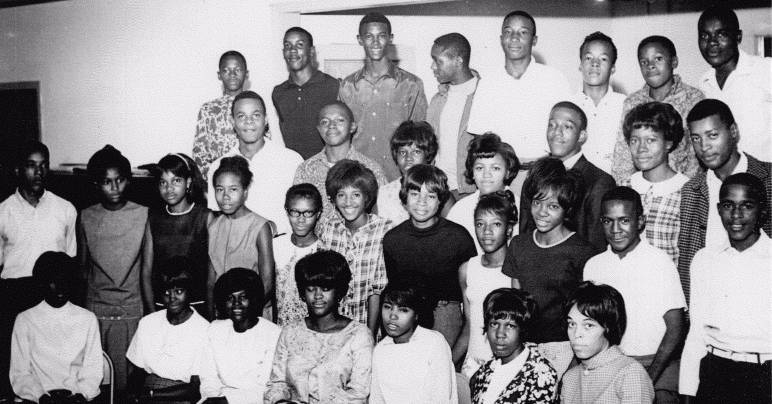 Desegregated students