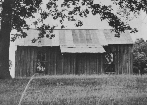 Sharecropper home