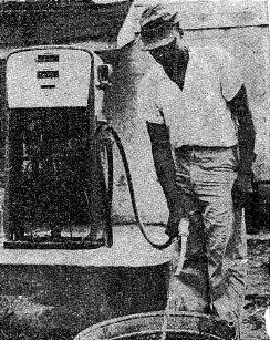 John McFerren and gas