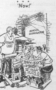cartoon desegregation