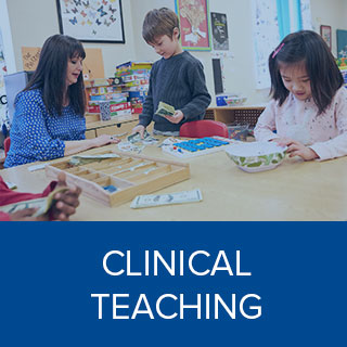 Clink here to learn more about Clinical Teaching