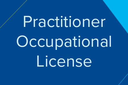 Practitioner Occupational License