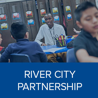 Clink here to learn more about River City Partnership