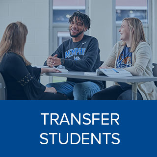 Clink here to learn more about Transfer Students