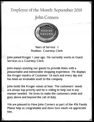 John C. Kroger Aware