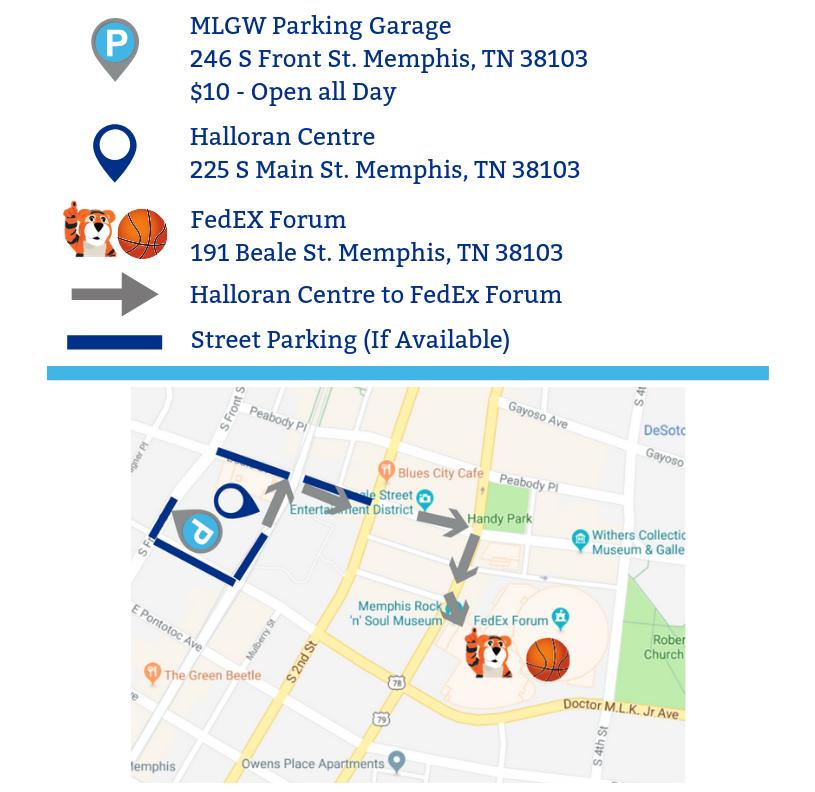 PFSD Parking Map