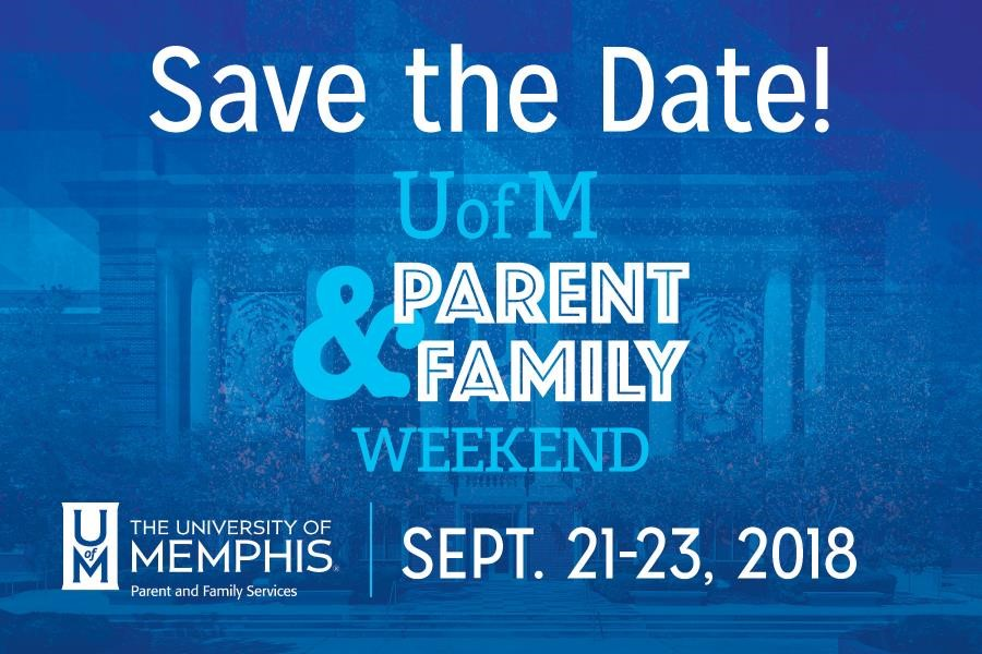 Parent & Family Weekend 2018 Save the Date