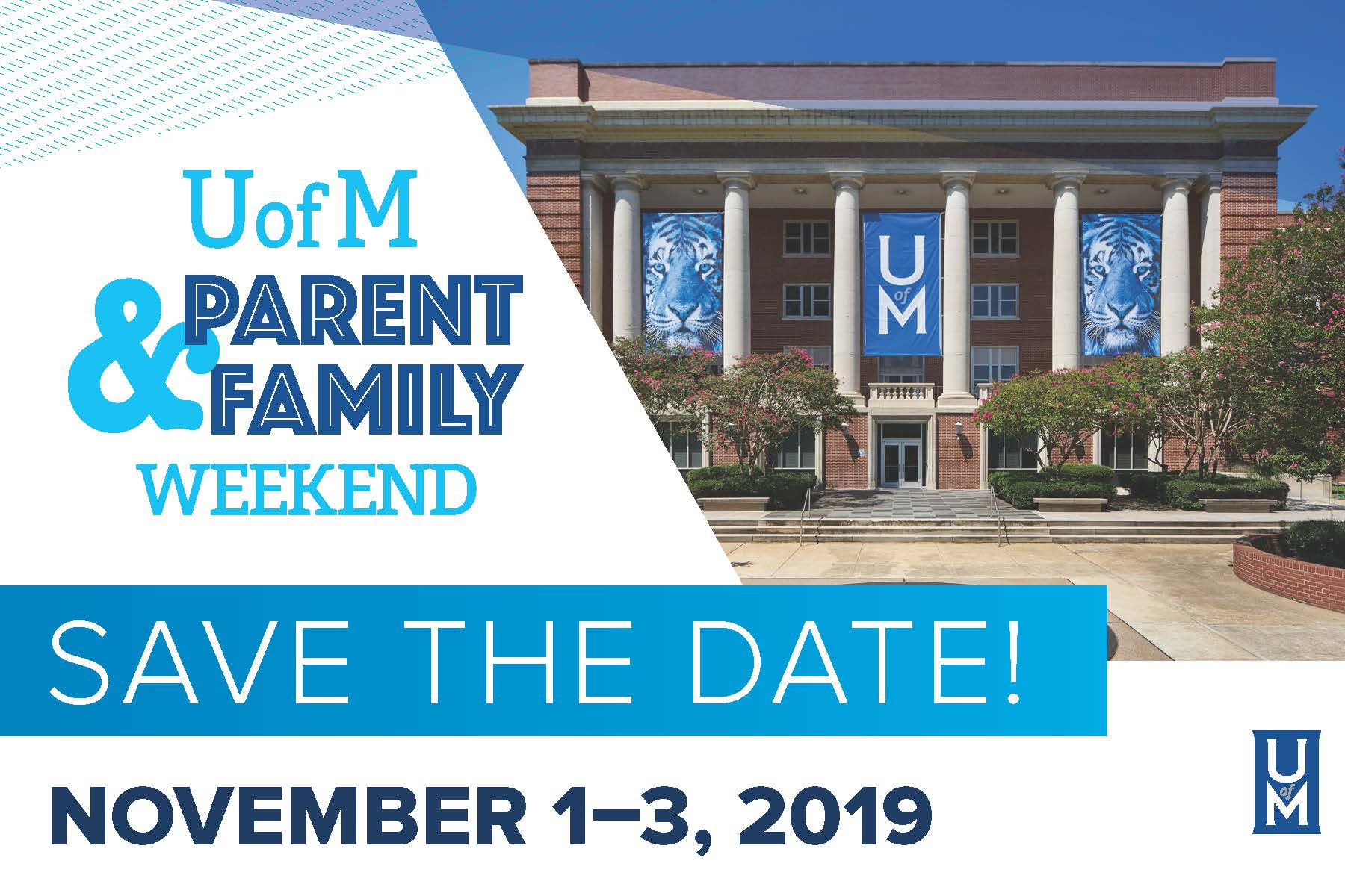 Parent & Family Weekend 2019