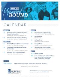Upward Bound Calendar Fall 2018