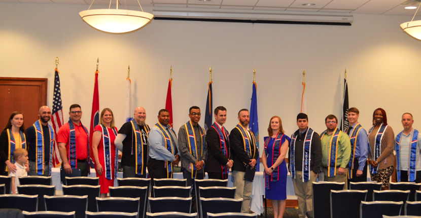 2019 Student Veterans Graduates