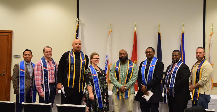 2019 Fall Student Veterans Graduates
