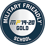 Military Friendly School - Gold Ranking - 2019-20