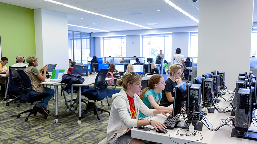 Computer Labs and Smart Classrooms