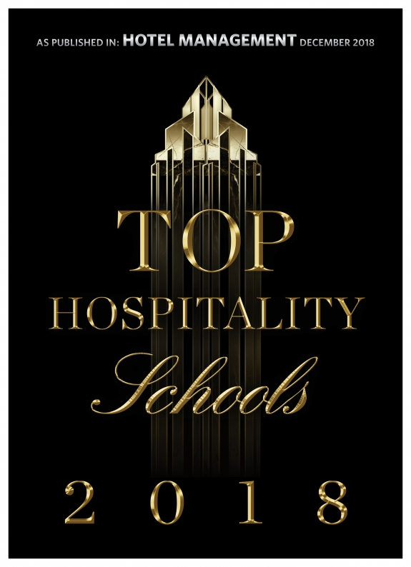 Top Hospitality Schools 2018 - As published in Hotel Management December 2018