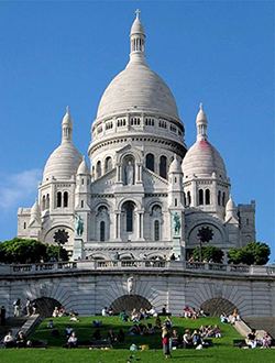Go Study Abroad and visit the Sacre Coeur
