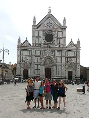 Italian Study Abroad Students 2014